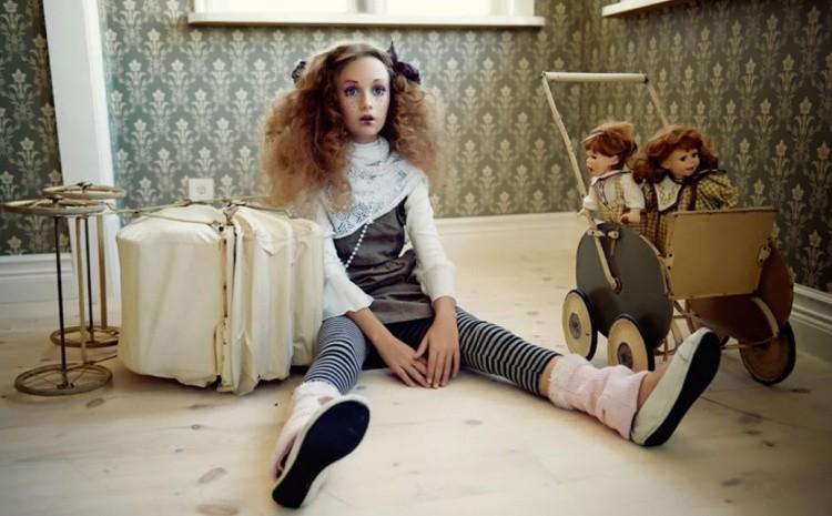 Фотосессия в стиле кукла