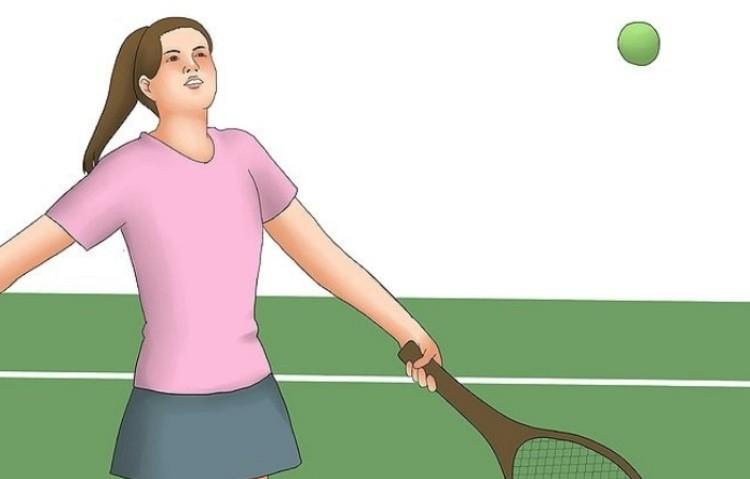 как играть в теннис правила