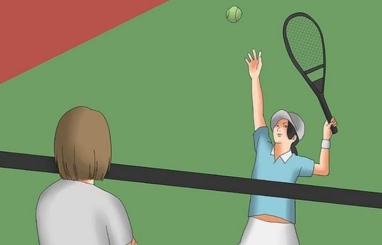 Теннис играть