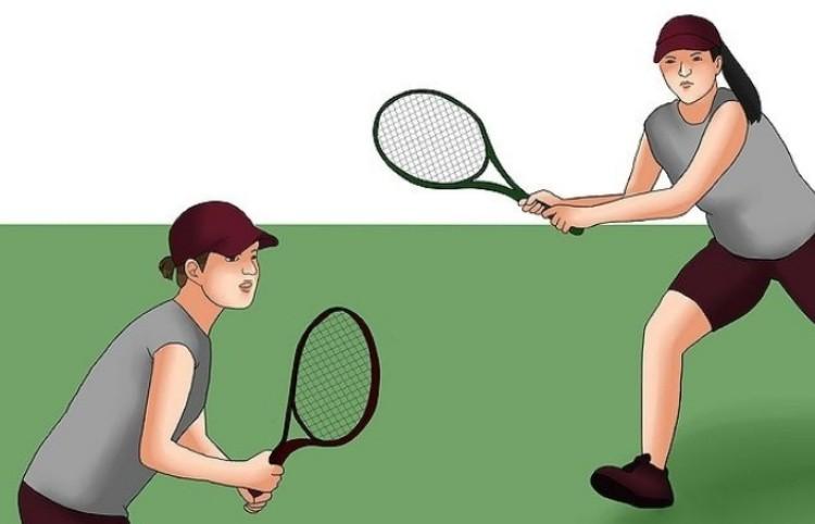 Игра в большой теннис