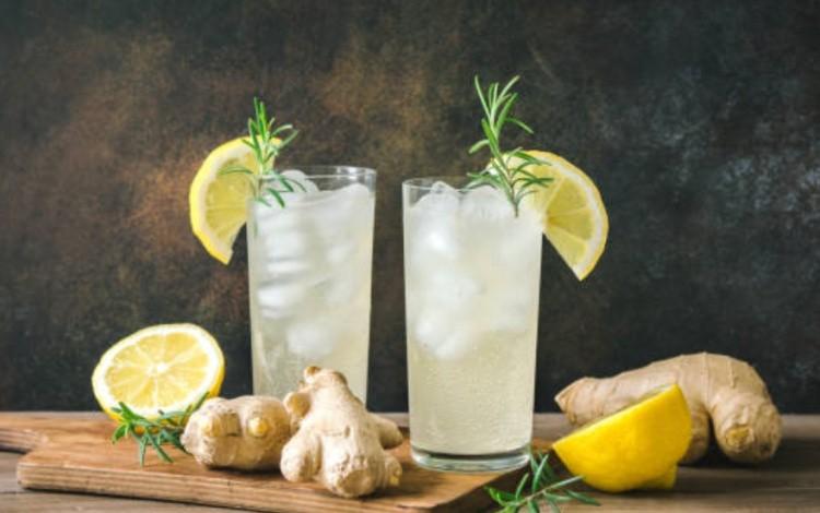 Напиток с мятой