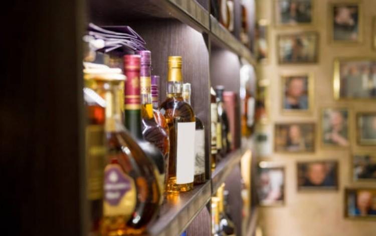 Виски в магазине