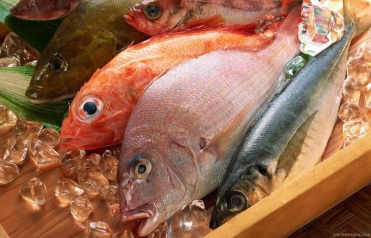 выбрать в магазине рыбу фото