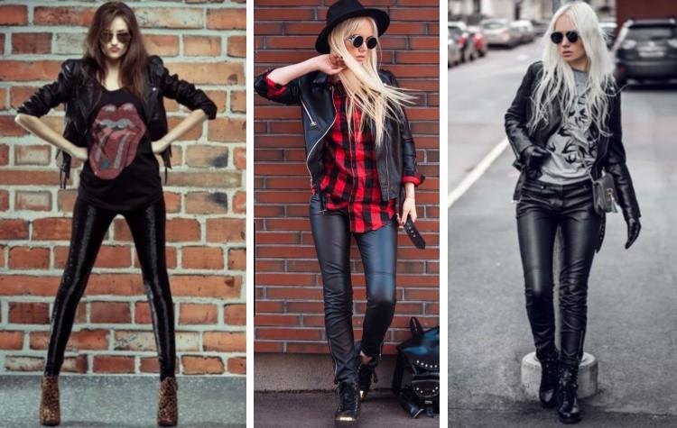 Одеваться в стиле рок