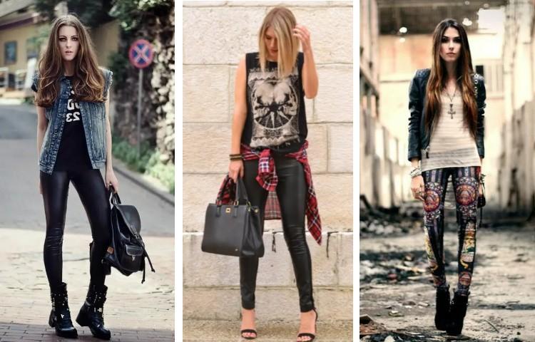 Рок стиль одежда