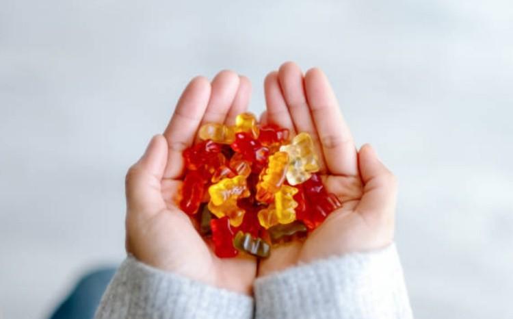 сладкий подарок для ребенка конфеты